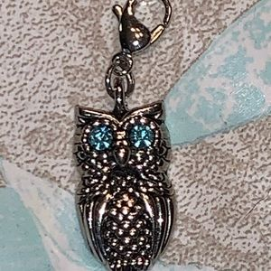 Origami Owl - Owl dangle with blues eyes